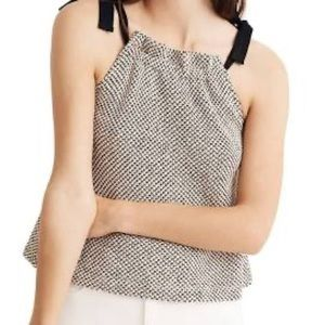 Madewell Shoulder Tie Knit Tank